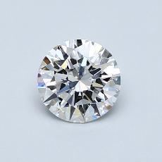 1.00 Carat 圓形 Diamond 理想 E VVS2