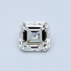 Piedra recomendada 2: Diamante de talla Asscher de 0.60 quilates