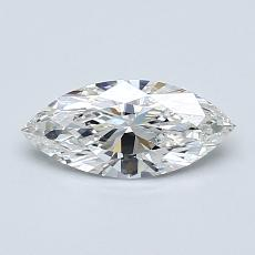 Recommended Stone #3: 0.55-Carat Marquise Cut Diamond