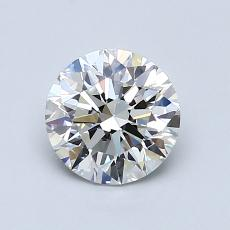 1.02-Carat Round Diamond Ideal H VS1