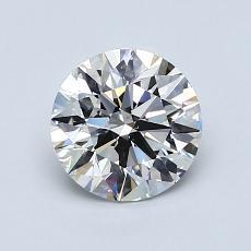 推荐宝石 3:1.09克拉圆形切割钻石