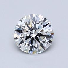 1,00 Carat Rond Diamond Idéale Astor G VVS2