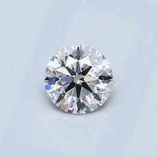 0.40 Carat 圓形 Diamond 理想 F VS2