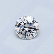 推荐宝石 2:0.40克拉圆形切割钻石