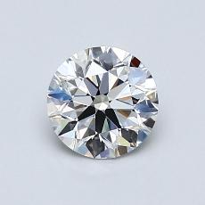 Target Stone: 0.80-Carat Round Cut Diamond