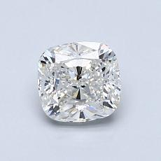 0,91-Carat Cushion Diamond Very Good G VS1