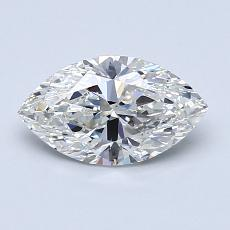 Recommended Stone #3: 0,91-Carat Marquise Cut Diamond