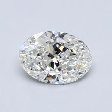 0.72-Carat Oval Diamond Very Good G VS2