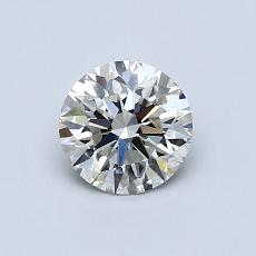 0.70 Carat 圓形 Diamond 理想 J VVS2