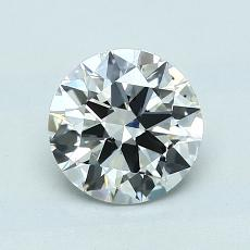 1.00 Carat Redondo Diamond Ideal G SI1
