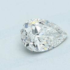 1,01-Carat Pear Diamond Very Good F SI2