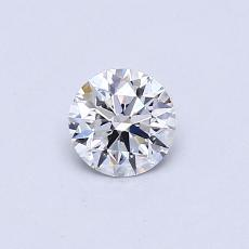0.40 Carat 圆形 Diamond 理想 E VS1