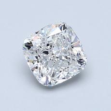 1.00-Carat Cushion Diamond Very Good D VS1