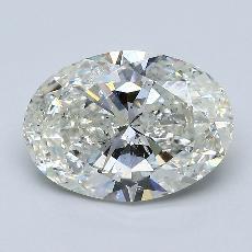 3.01-Carat Oval Diamond Very Good I SI2