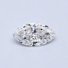 0.50 Carat 榄尖形 Diamond 非常好 F VS2