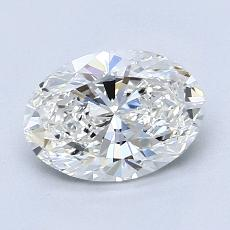 Recommended Stone #3: 1,40-Carat Oval Cut