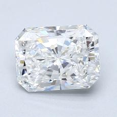 Pierre recommandée n°1: Diamant taille radiant 1,50 carats