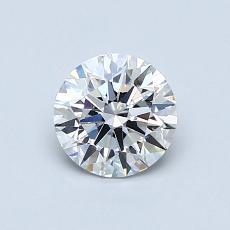0.71-Carat Round Diamond Ideal G VS1