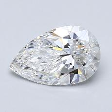 Recommended Stone #2: 1.21-Carat Pear Cut Diamond