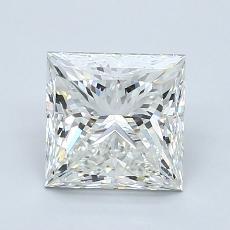 Recommended Stone #3: 1,80-Carat Princess Cut Diamond