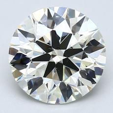 2.01 Carat 圓形 Diamond 理想 K VS2