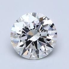 1.51-Carat Round Diamond Ideal I VS1