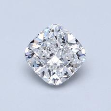 0.81 Carat 墊形 Diamond 非常好 E VVS2