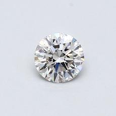 0.30 Carat 圆形 Diamond 理想 I VS2