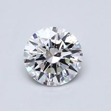 0.60 Carat 圓形 Diamond 理想 E VVS2
