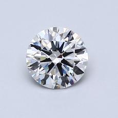 0.70 Carat 圓形 Diamond 理想 G VVS2