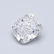 0.80-Carat Cushion Diamond Very Good D SI1
