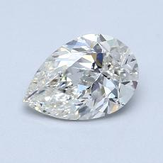 Recommended Stone #1: 0.96-Carat Pear Shaped