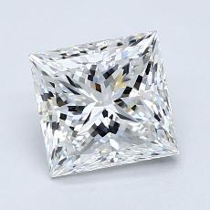 推荐宝石 3:1.70 克拉公主方形钻石