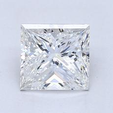 Recommended Stone #2: 1,50-Carat Princess Cut Diamond