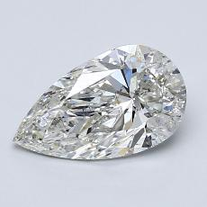 1.30-Carat Pear Diamond Very Good H SI2