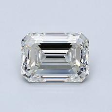 1.01-Carat Emerald Diamond Very Good I VVS2