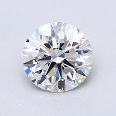 1.10 Carat 圆形 Diamond 理想 E VS1