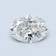 0.80-Carat Oval Diamond Very Good G VS2