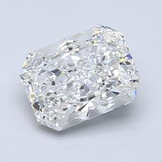 1.54-Carat Radiant Diamond Very Good F SI2