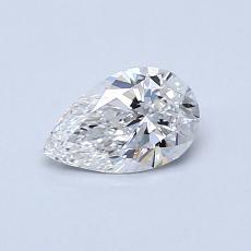 推薦鑽石 #4: 0.50 克拉梨形鑽石