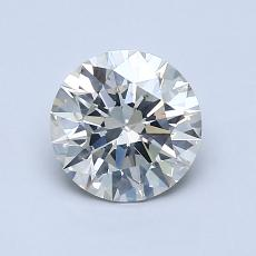 1,02-Carat Round Diamond Ideal K SI2