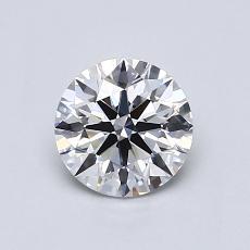 0.70 Carat 圆形 Diamond 理想 E VVS2
