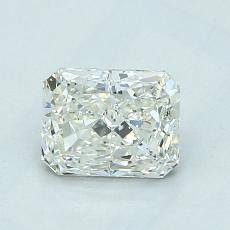 Recommended Stone #1: 1.02-Carat Radiant Cut Diamond