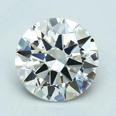 1.50-Carat Round Diamond Ideal J VVS1