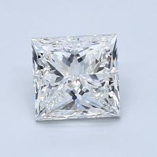 1.20 Carat Princesa Diamond Muy buena H VS1