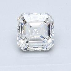 Target Stone: 0.91-Carat Asscher Cut Diamond
