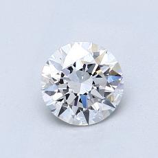 Pierre cible: Diamant taille ronde 0,71 carat