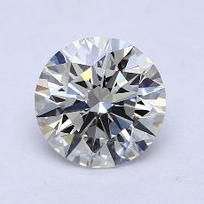 1.82-Carat Round Diamond Ideal J VVS2