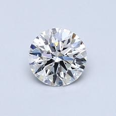 Recommended Stone #3: 0,61-Carat Round Cut Diamond