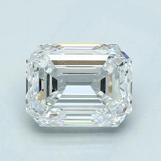 Recommended Stone #3: 1.51-Carat Emerald Cut Diamond